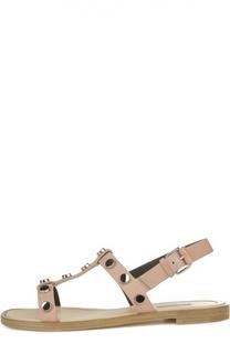 Сандалии с металлическими заклепками Balenciaga