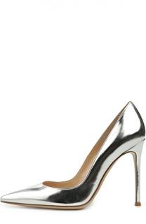 Туфли Gianvito 105 из металлизированной кожи Gianvito Rossi