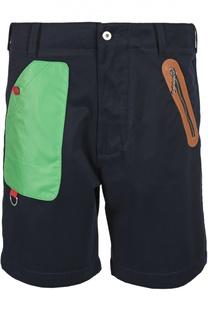 Бермуды с разноцветными карманами Moschino