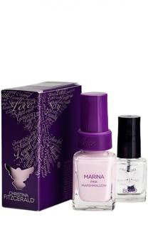 """Лак для ногтей Marina """"Розовый зефир"""" и Bond-подготовка Christina Fitzgerald"""