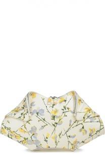 Клатч De Manta с цветочным принтом Alexander McQueen