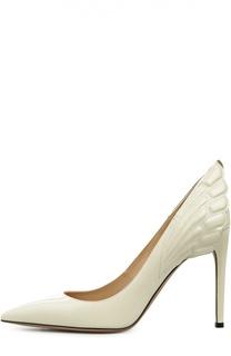 Лаковые туфли Alicouture с аппликацией Valentino