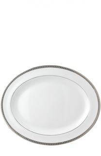 Блюдо овальное Athena Platine Bernardaud
