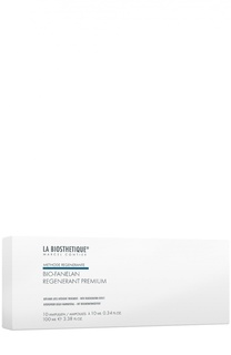 Сыворотка в ампулах против выпадения волос, 10 ампул La Biosthetique