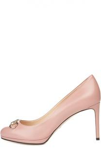 Туфли Gisele с декоративной пряжкой Gucci