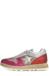 Кроссовки Macy на джутовой подошве Stella McCartney