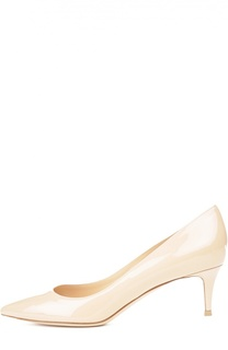 Лаковые туфли Classic на шпильке Gianvito Rossi