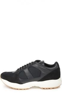 Кроссовки на контрастной подошве Dior