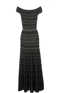 Платье вязаное Alexander McQueen
