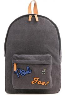Рюкзак с накладным карманом и нашивками Paul&Joe Paul&Joe