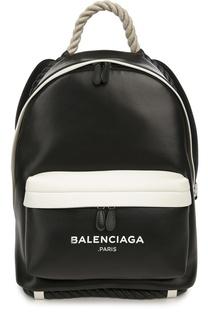 Кожаный рюкзак Navy с ручкой-канатом Balenciaga