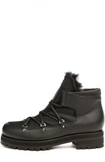 Утепленные ботинки Ditto на шнуровке Jimmy Choo