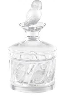 Штоф Owl Lalique
