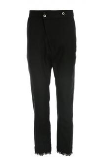 Льняные брюки с заниженной линией шага Barbara I Gongini