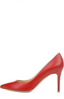Кожаные туфли Gianvito 85 на шпильке Gianvito Rossi