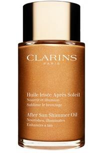 Мерцающее масло после загара для тела и волос Clarins