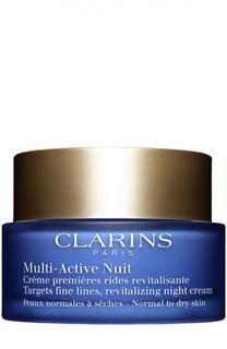 Ночной крем Multi-Active для нормальной/сухой кожи Clarins