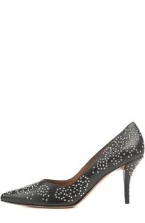 Кожаные туфли с заклепками Givenchy