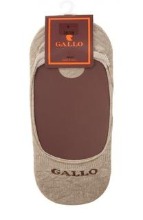 Хлопковые носки-подследники Gallo