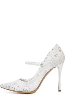 Кружевные туфли Raleigh на шпильке Tabitha Simmons