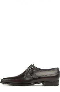 Классические монки с одной пряжкой Berluti Shoes