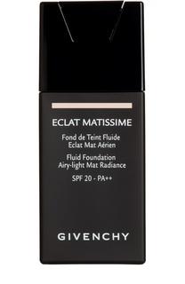 Тональный крем Eclat Matissime SPF 20 золотой Givenchy