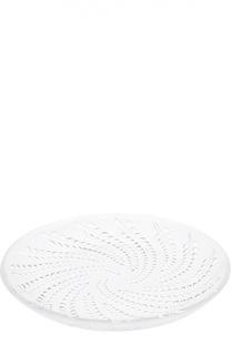 Ваза для фруктов плоская Glycines Lalique
