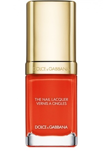 Лак для ногтей, оттенок 608 Orange Dolce & Gabbana