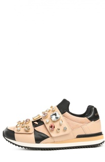 Кроссовки Nigeria с декором Dolce & Gabbana