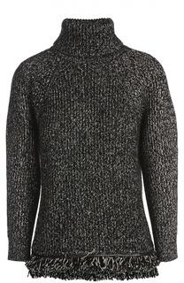 Вязаный свитер Alexander McQueen