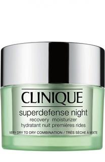 Ночной крем для сухой и комбинированной кожи Clinique