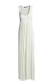 Платье джерси Calvin Klein Collection
