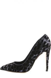 Вечерние туфли на шпильке Armani Collezioni