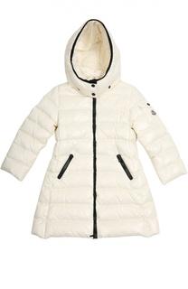 Пальто с капюшоном Moncler Enfant