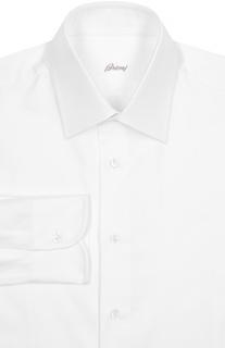 Сорочка из текстурированного хлопка Brioni