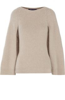 Кашемировый пуловер с накидкой на спине Ralph Lauren