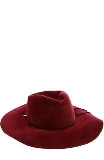 Шляпа из фетра с замшевым шнурком House Of Lafayette