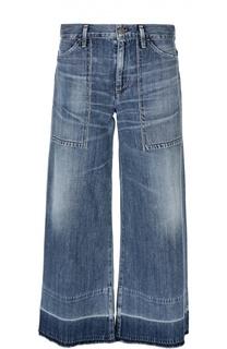 Укороченные расклешенные джинсы с накладными карманами Citizens Of Humanity