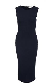 Платье-футляр на молнии с круглым вырезом Victoria Beckham