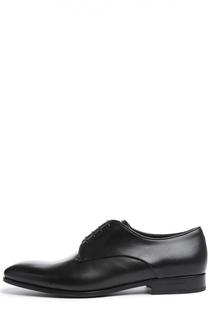 Кожаные туфли New Jersey Giorgio Armani