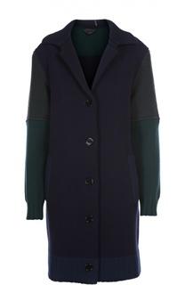Пальто вязаное Burberry Prorsum