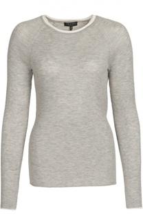 Кашемировый пуловер фактурной вязки с контрастной отделкой Rag&Bone Rag&Bone