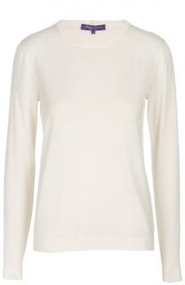 Кашемировый пуловер прямого кроя с круглым вырезом Ralph Lauren