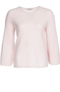Кашемировый пуловер с круглым вырезом и укороченным рукавом Dorothee Schumacher