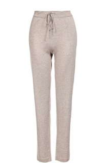 Кашемировые брюки с  эластичным поясом Back Label