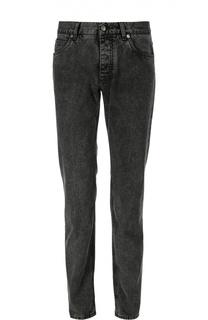 Зауженные джинсы с нашивкой Dolce & Gabbana