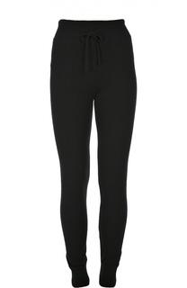 Кашемировые брюки с эластичным поясом и манжетами Back Label