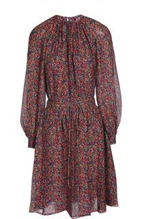 Платье с поясом Derek Lam