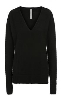 Пуловер свободного кроя с V-образным вырезом Raquel Allegra