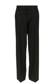 Широкие брюки прямого кроя со стрелками DKNY